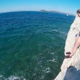 Deep Water Solo & Cliff jumping, Split, Dalmatia, Croatia, Split